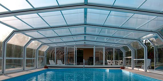 Veigas piscinas coberturas atra for Coberturas para piscinas