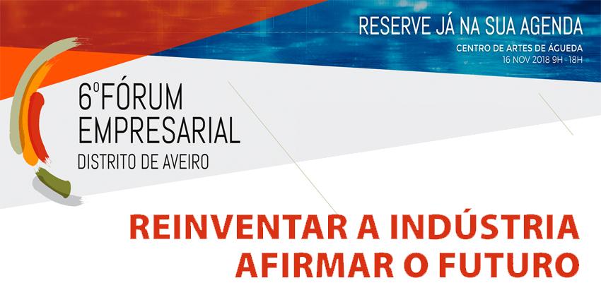 6º Fórum Empresarial Distrito de Aveiro