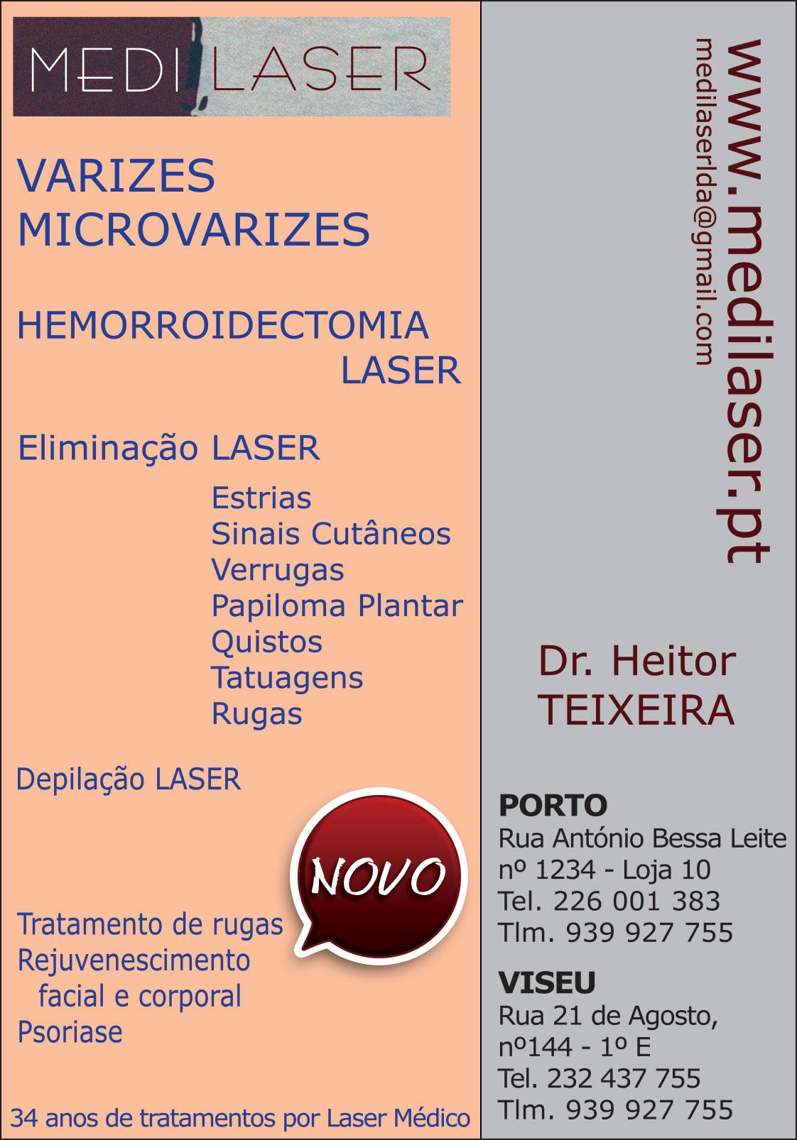 MEDILASER • DR. HEITOR TEIXEIRA • CIRURGIA LASER