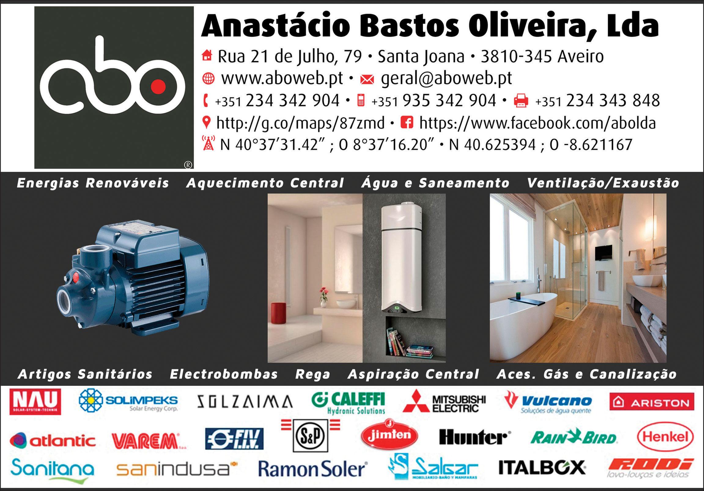 ABO, LDA • ANASTÁCIO BASTOS OLIVEIRA