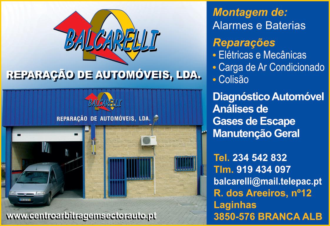 BALCARELLI - REPARAÇÃO DE AUTOMÓVEIS, LDA.