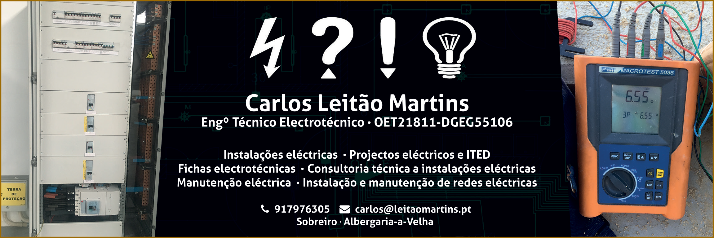 Carlos Leitão Martins • Eng. Téc. Electrotécnico