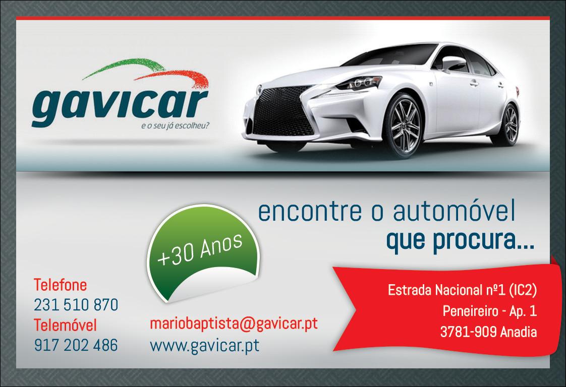 GAVICAR • COMÉRCIO E REPARAÇÕES DE AUTOMÓVEIS, LDA.
