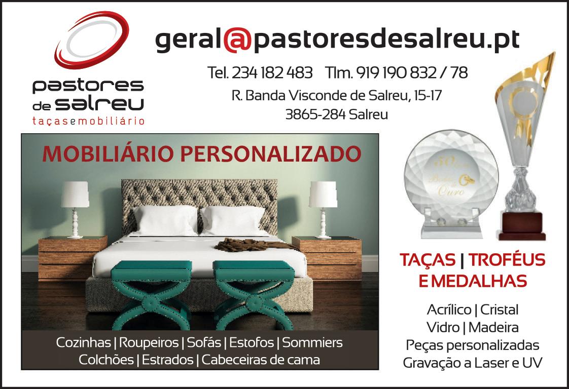 PASTORES DE SALREU • TAÇAS E TROFÉUS • COMÉRCIO DE MÓVEIS, LDA.