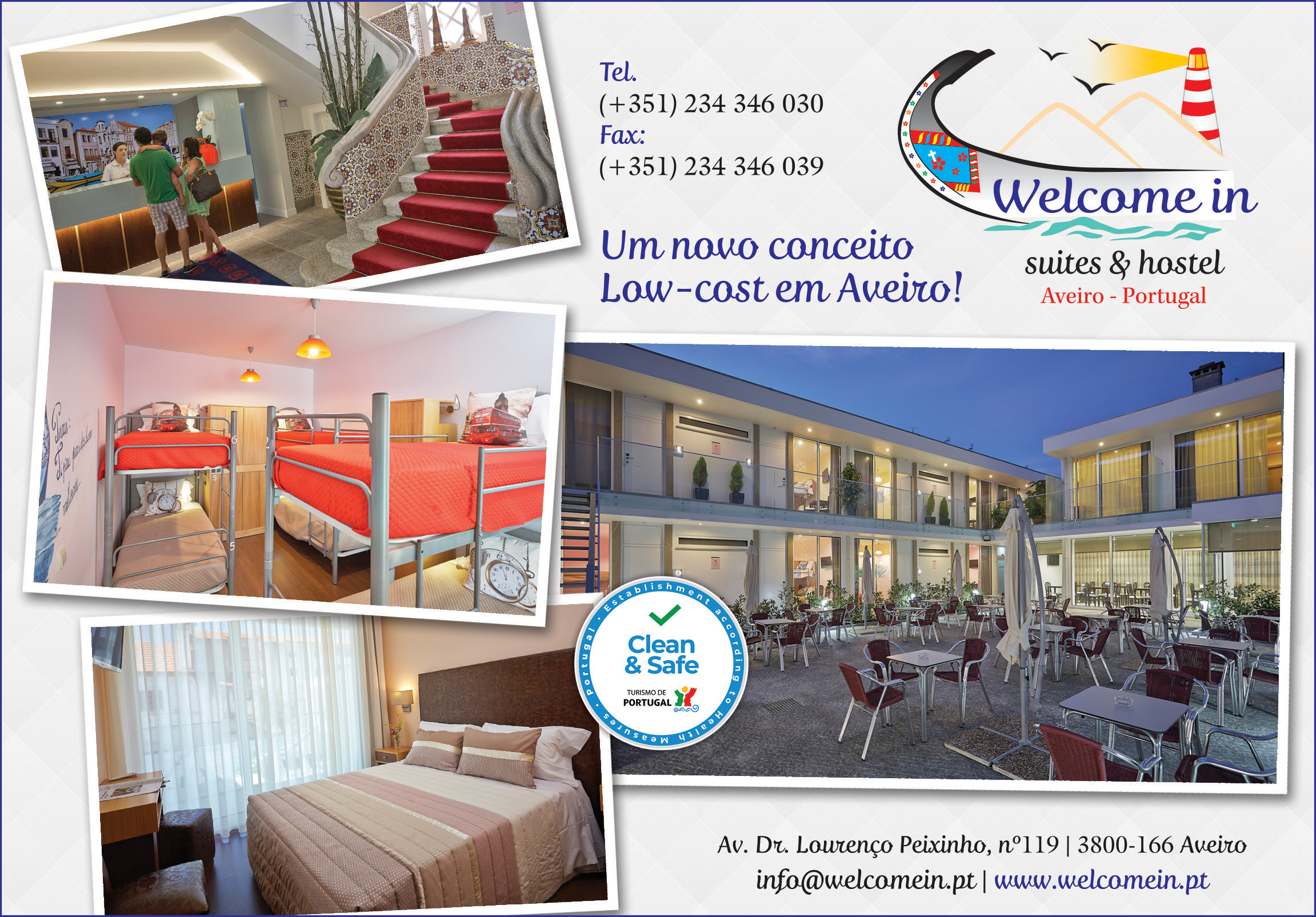 WELCOME IN • SUITES & HOSTEL • WELCOMEIN