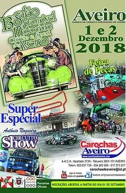 13º Salão Automóvel e Motociclo Clássico e Sport de Aveir