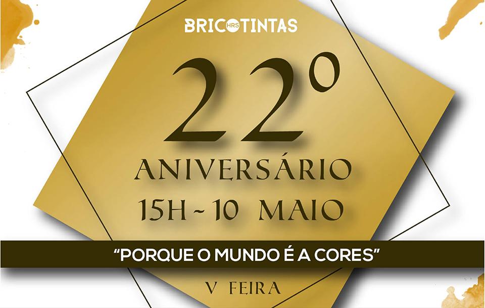 22º Aniversario Bricotintas