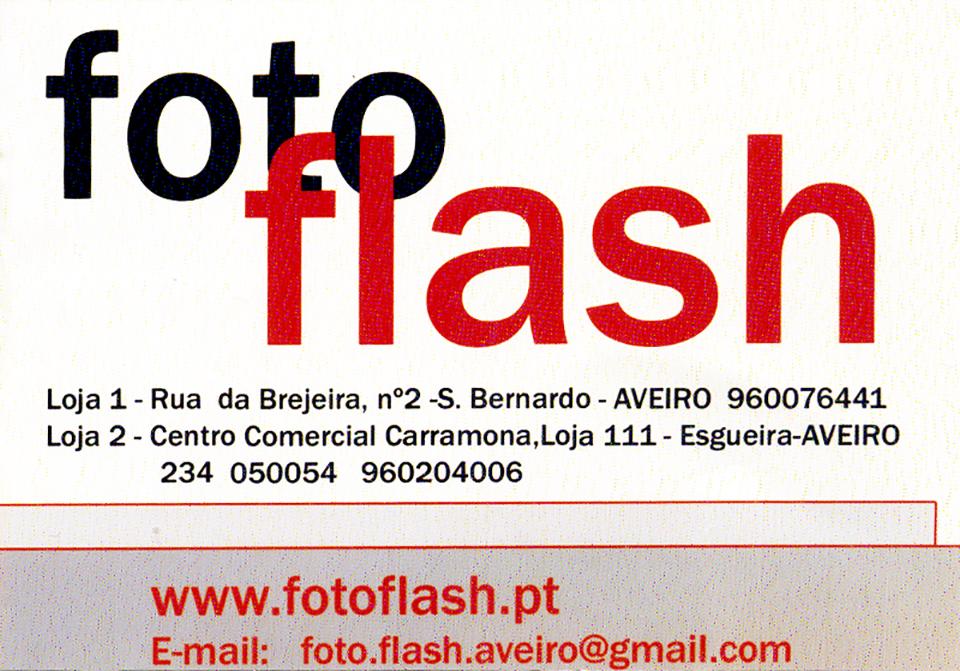 Cartão Foto Flash