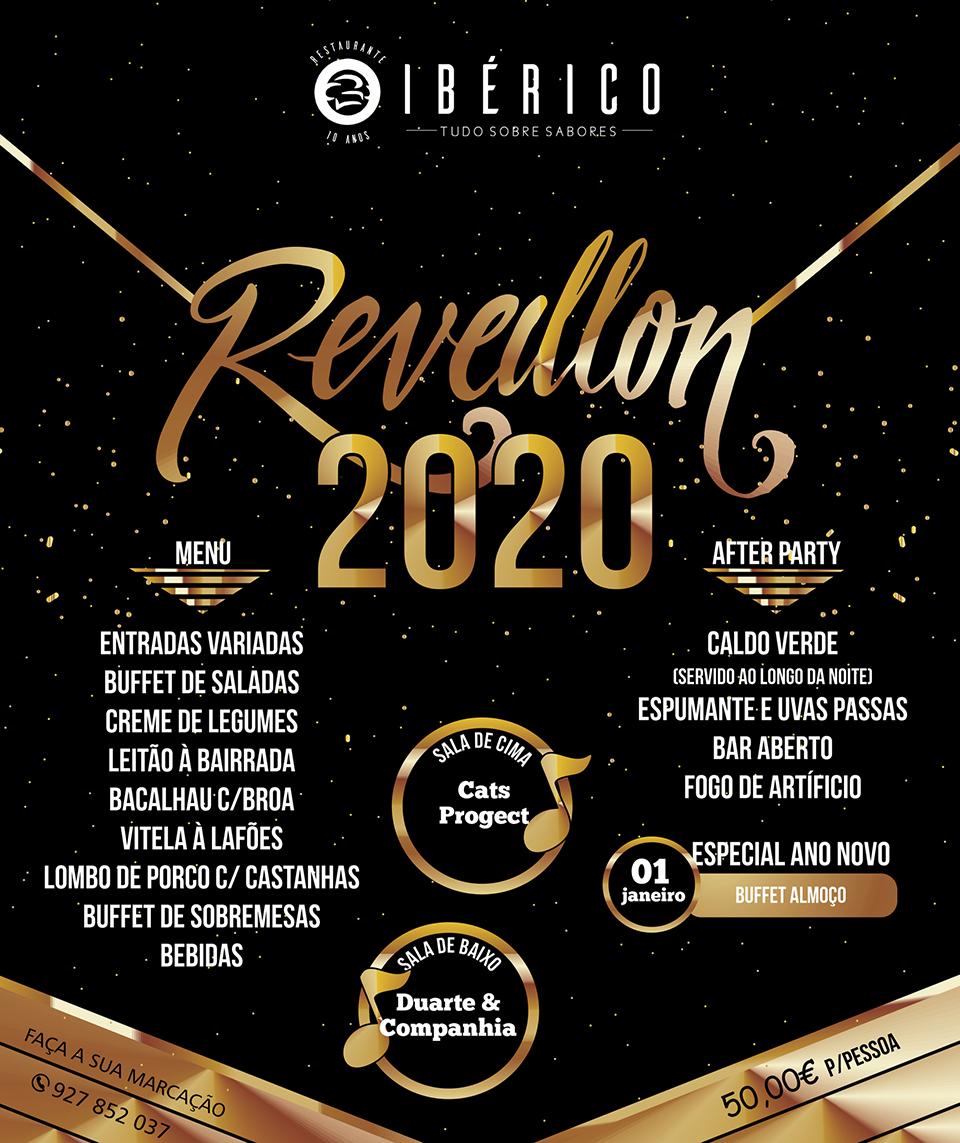 Restaurante O Ibérico - Reveillon