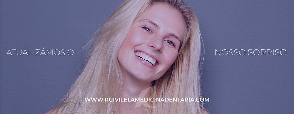 Rui Vilela renova o website