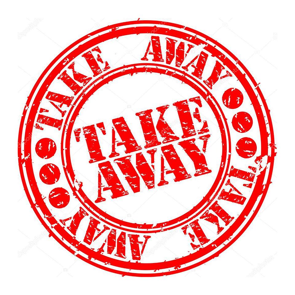 Take Away todos os dias da semana