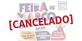Feira de Março 2020 cancelado