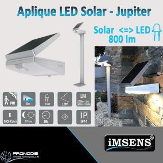 Aplique LED Solar