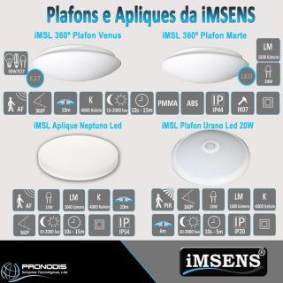 Plafons e Apliques da iMSENS