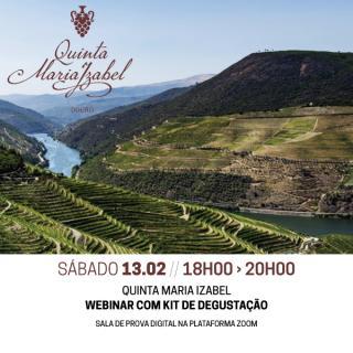 prova vinhos Quinta Maria Izabel