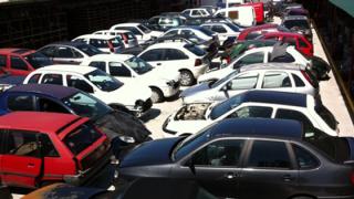 Centro de Abate automóvel