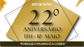 22º Aniversário Bricotintas