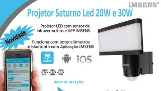 Projector Saturno LED