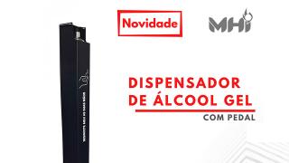 Dispensador de Álcool Gel