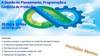 Gestão do Planeamento, Programação e Controlo da Produção