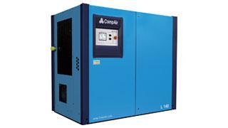 Compressores de parafusos rotativos injectados por óleo séries L e LSR