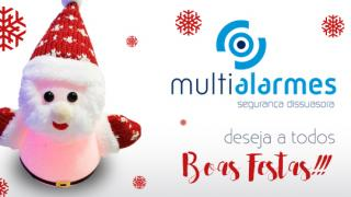 Multialarmes deseja-lhe Boas Festas!!!!