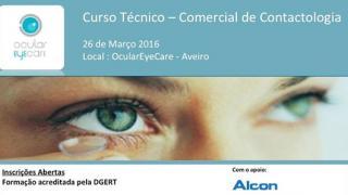 Curso Técnico-Comercial Contactologia