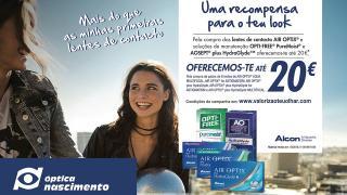 Campanha Lentes de Contacto Air Optix