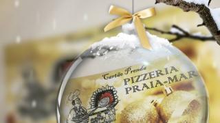 Pizzeria Praia Mar: cartão prenda