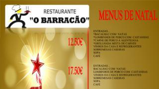 Restaurante O Barracão: Menus de Natal