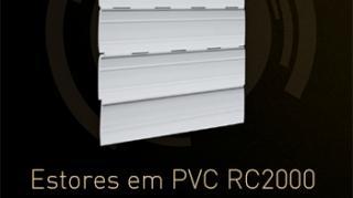 Estores em PVC RC2000